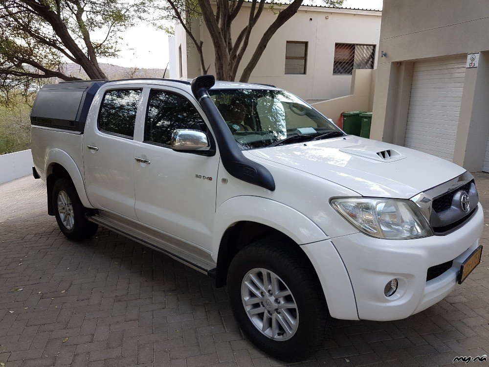 toyota hilux 3 0 d4d double cab 4x4 my namibia. Black Bedroom Furniture Sets. Home Design Ideas