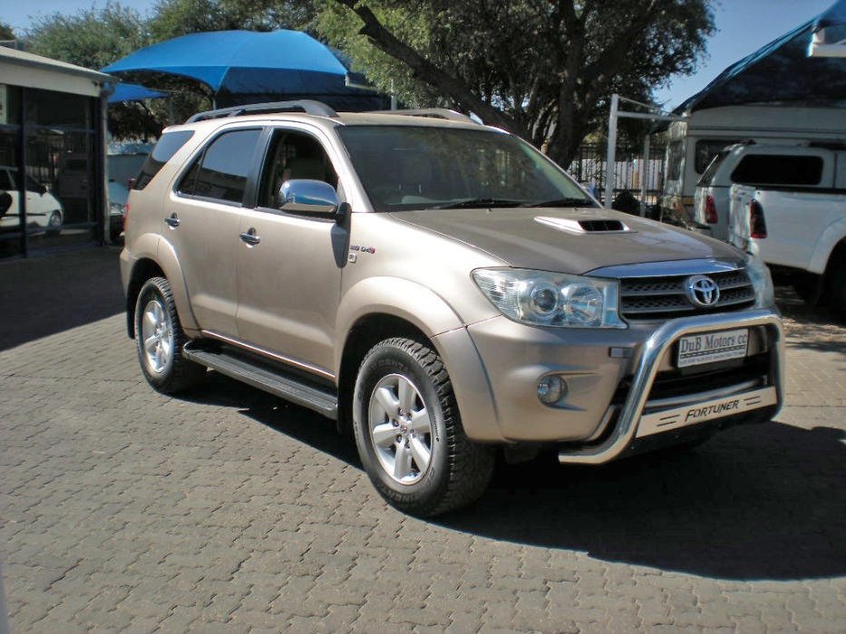 Toyota Fortuner 3 0 D4d 4x4 My Namibia