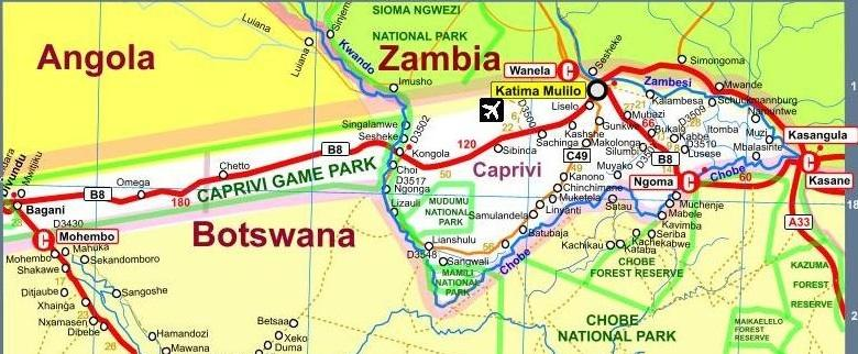Caprivi strip namibia