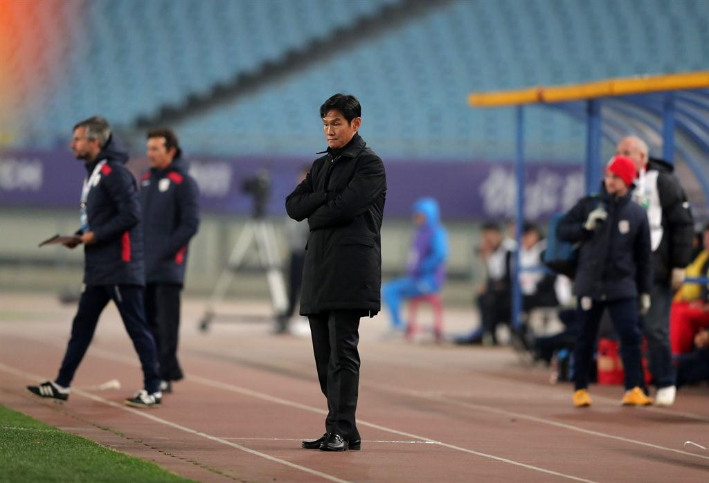 58c76544d ... Choi Yong Soo reacts during the AFC Champions League group stage  football match. PHOTO  NAMPA AFP. High expectations in the big-spending Chinese  Super ...