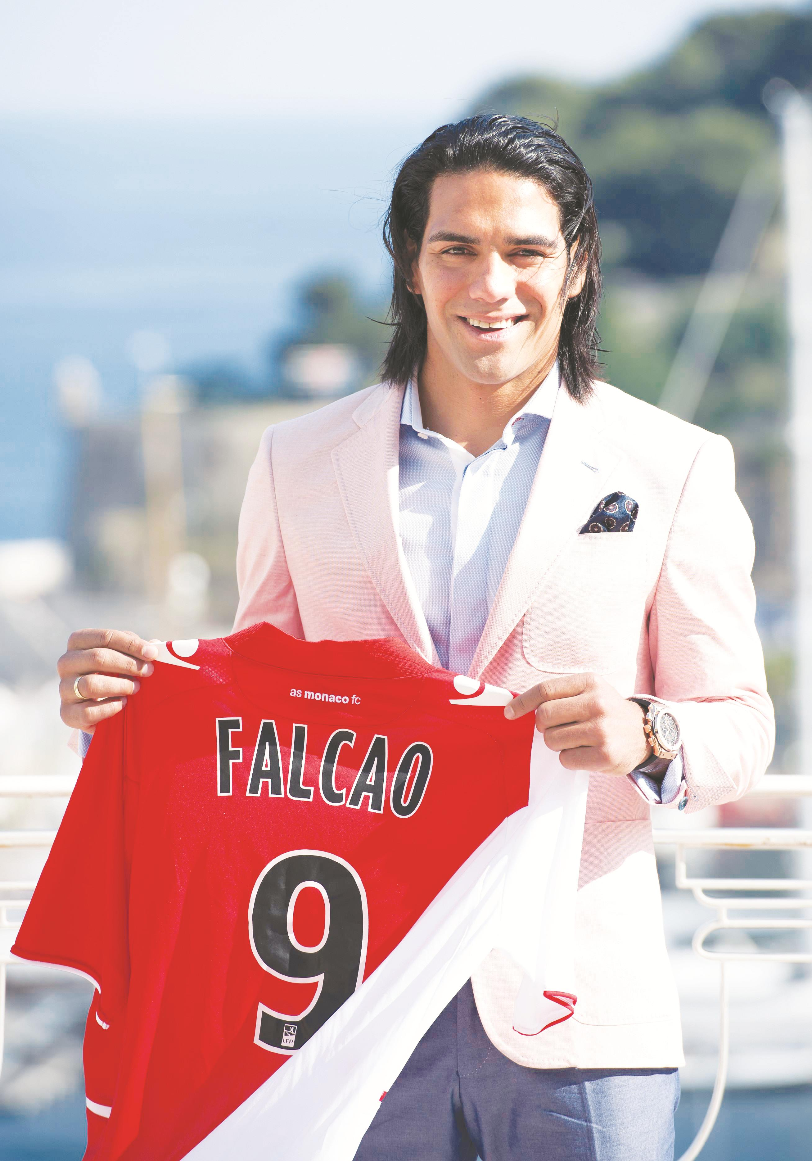 be429fc3bfc MONACO-NAMPA/AFP Monaco's newly acquired Colombian striker Radamel Falcao  said on Tuesday that he wanted to steer the ambitious newly-promoted French  Ligue ...