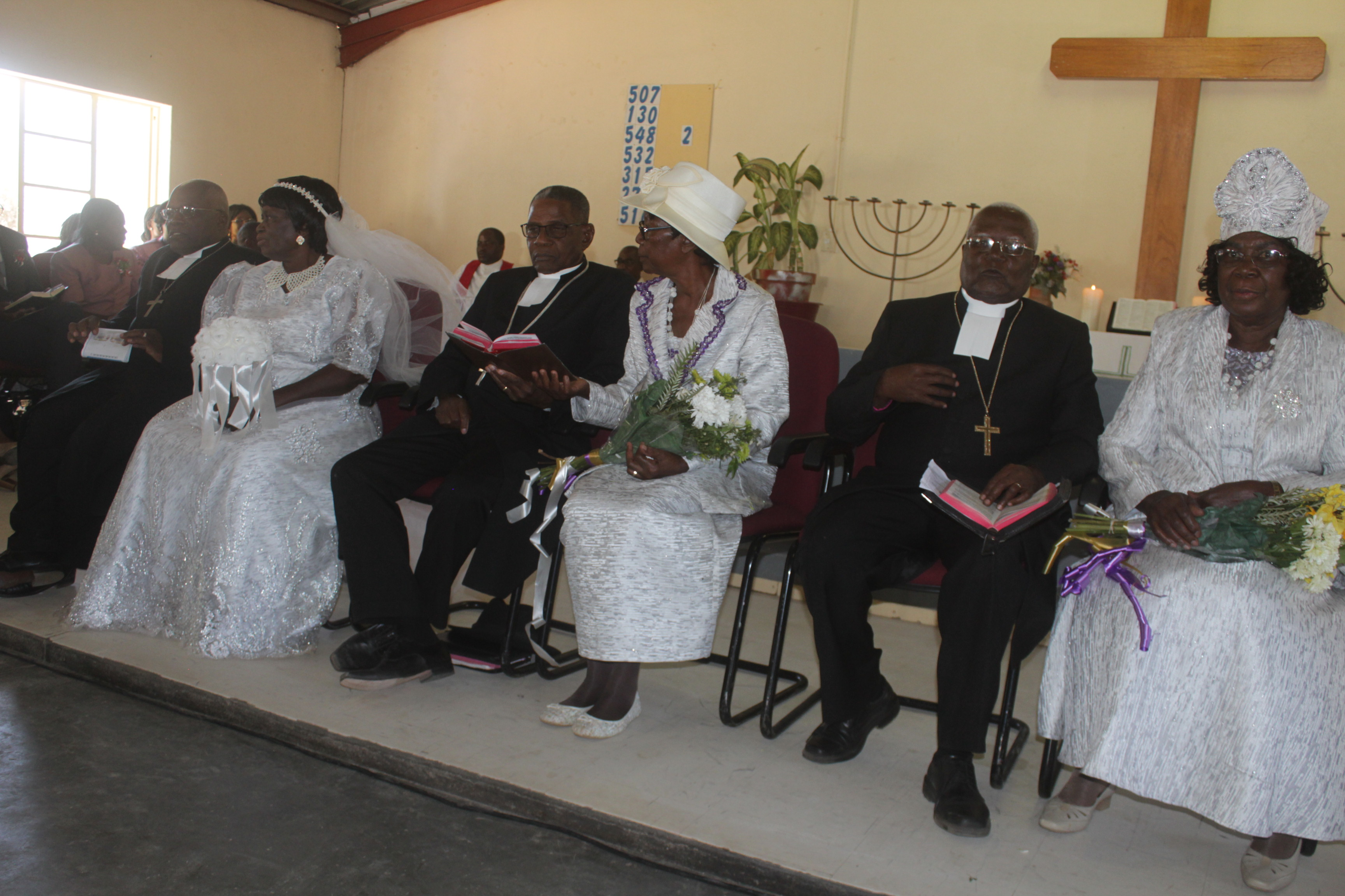 Retired bishops celebrate wedding anniversaries - Local ...
