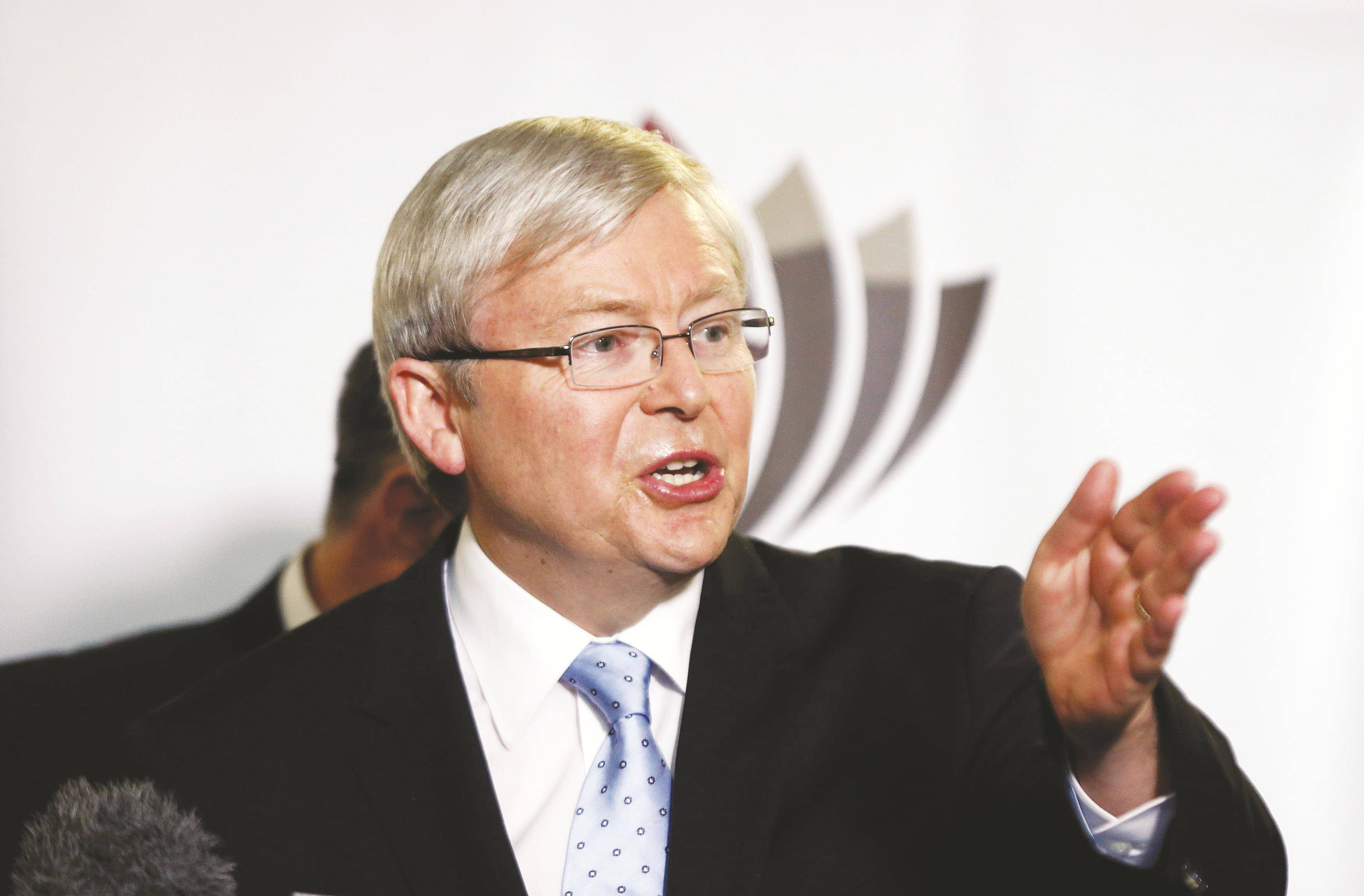 Rudd's gay marriage pledge