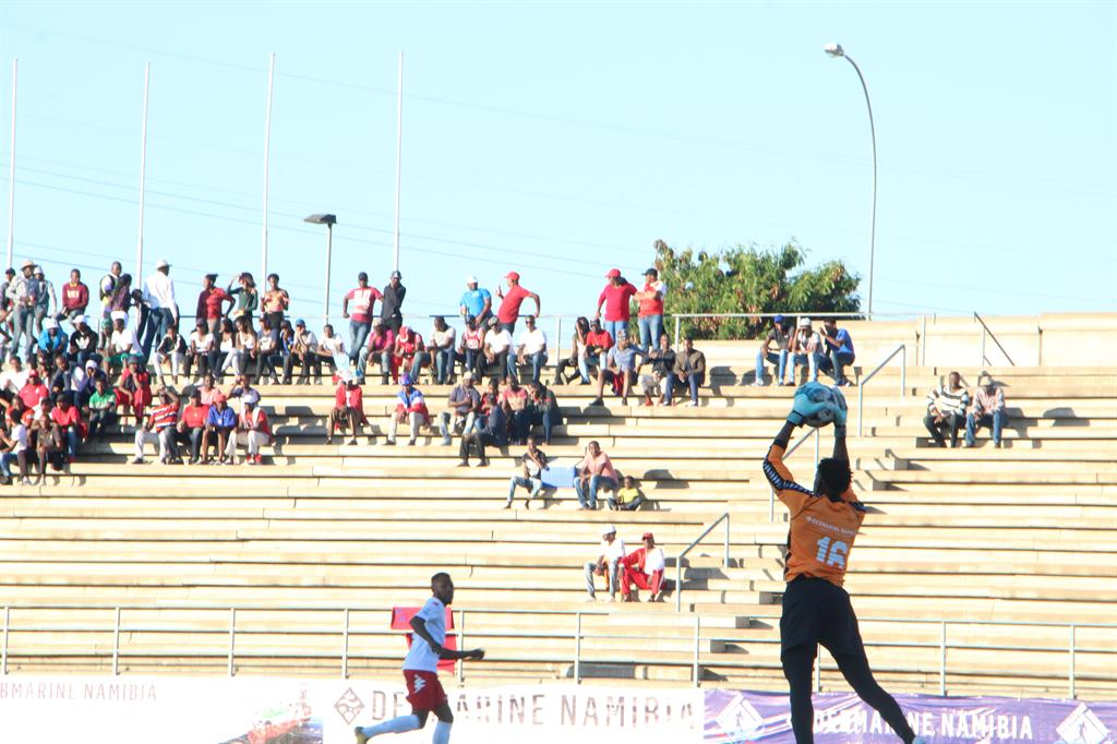Unam defy the odds sports namibian sun there was exciting drama in the debmarine namibia cup semi final photos jesse jackson kauraisa altavistaventures Image collections