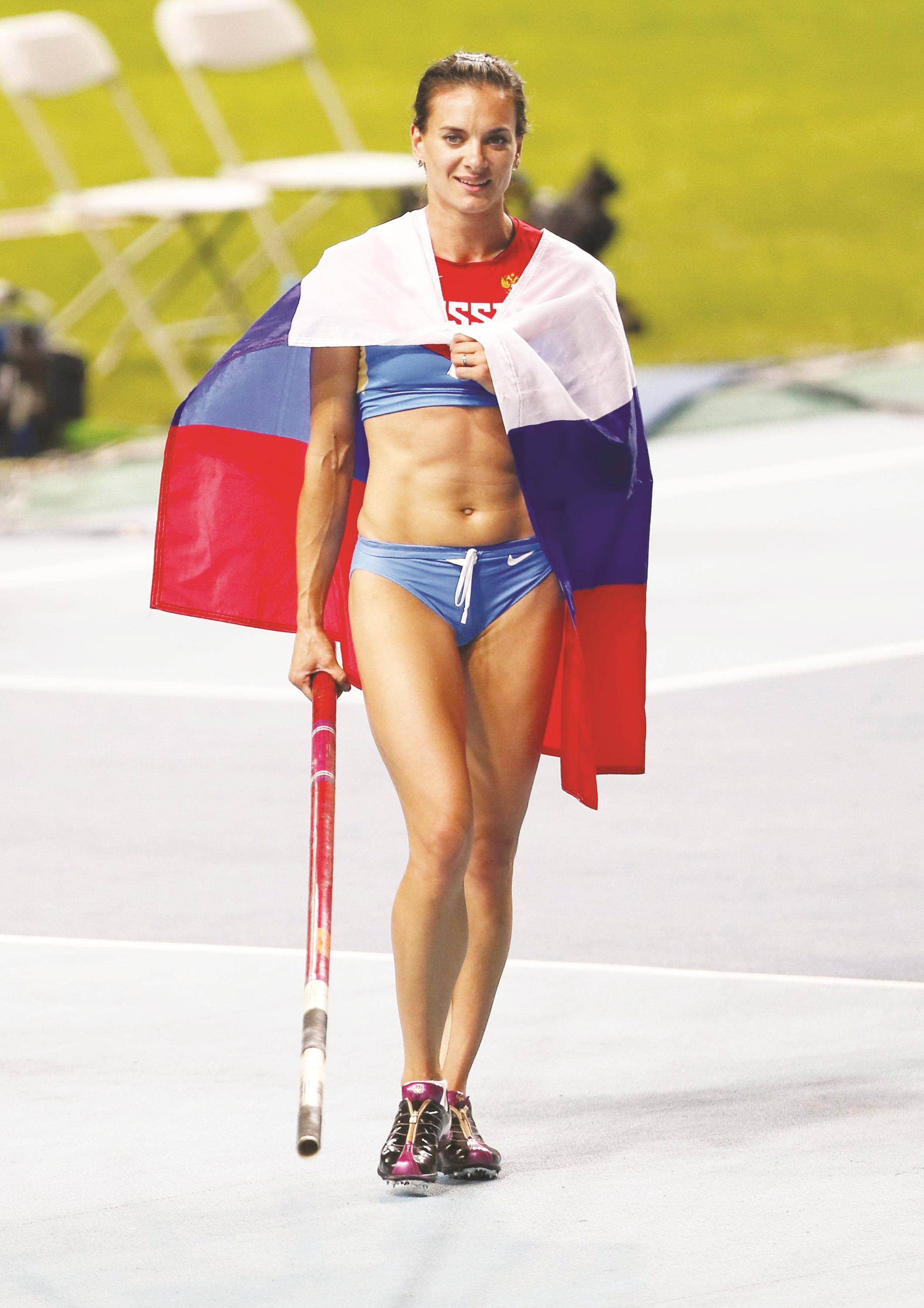 Elena Isinbayeva threatens to end her career because of the decision of the CAS 07.22.2016 35