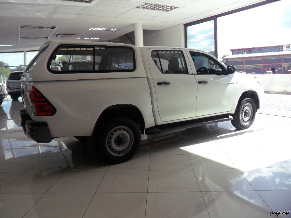 2016 Toyota Hillux 2 4gd6 D C 4x4 Manual My Namibia