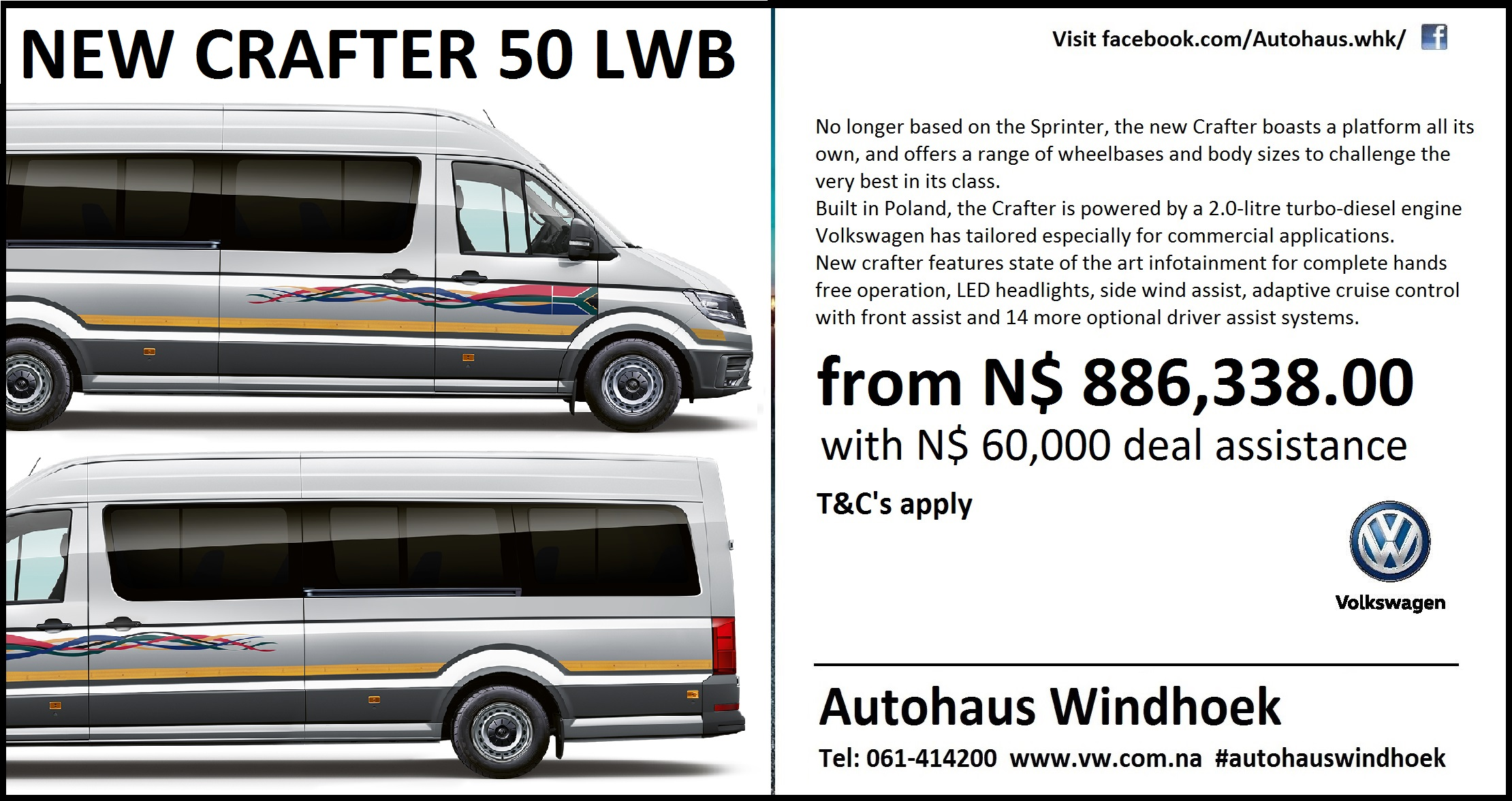 New Crafter 50 LWB