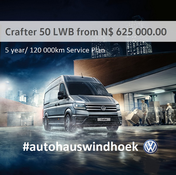 Crafter 50 LWB from N$ 625000